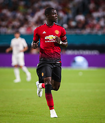 July 31, 2018 - Miami Gardens, Florida, USA - Manchester United F.C. defender Eric Bailly (3) in action during an International Champions Cup match between Real Madrid C.F. and Manchester United F.C. at the Hard Rock Stadium in Miami Gardens, Florida. Manchester United F.C. won the game 2-1. (Credit Image: © Mario Houben via ZUMA Wire)