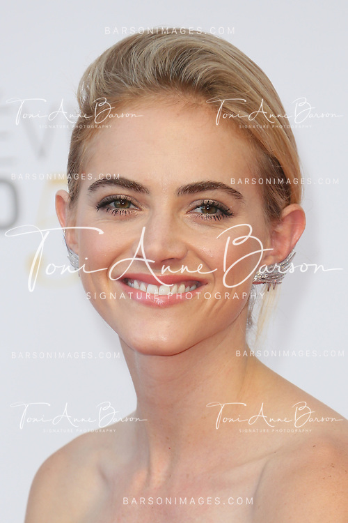 MONTE-CARLO, MONACO - JUNE 11:  Emily Wickersham attends the Closing Ceremony and Golden Nymph Awards of the 54th Monte Carlo TV Festival on June 11, 2014 in Monte-Carlo, Monaco.  (Photo by Tony Barson/FilmMagic)