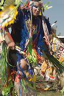 Crow, Fancy Dancer, Crow Fair, powwow, Crow Indian Reservation, Montana