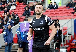 Andy Uren of Bristol Bears prior to kick-off -Mandatory by-line: Nizaam Jones/JMP - 19/01/2019 - RUGBY - Ashton Gate Stadium - Bristol, England - Bristol Bears v Enisei-STM - European Rugby Challenge Cup