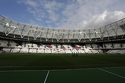 Stadium before 2nd Leg football match between West Ham United FC and NK Domzale in 3rd Qualifying Round of UEFA Europa league 2016/17 Qualifications, on August 4, 2016 in London, England.  Photo by Ziga Zupan / Sportida