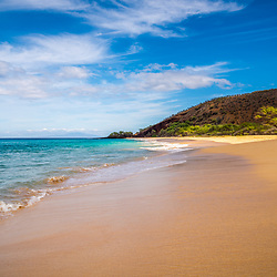 Makena Big Beach Maui Hawaii Photo. Big Beach is in Wailea-Makena Kihei Hawaii. Copyright ⓒ 2019 Paul Velgos with All Rights Reserved.