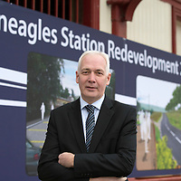 Transport Minister Unveils Funding for Gleneagles Station....15.11.13<br /> Pictured Steve Montgomery MD Scotrail<br /> Picture by Graeme Hart.<br /> Copyright Perthshire Picture Agency<br /> Tel: 01738 623350  Mobile: 07990 594431