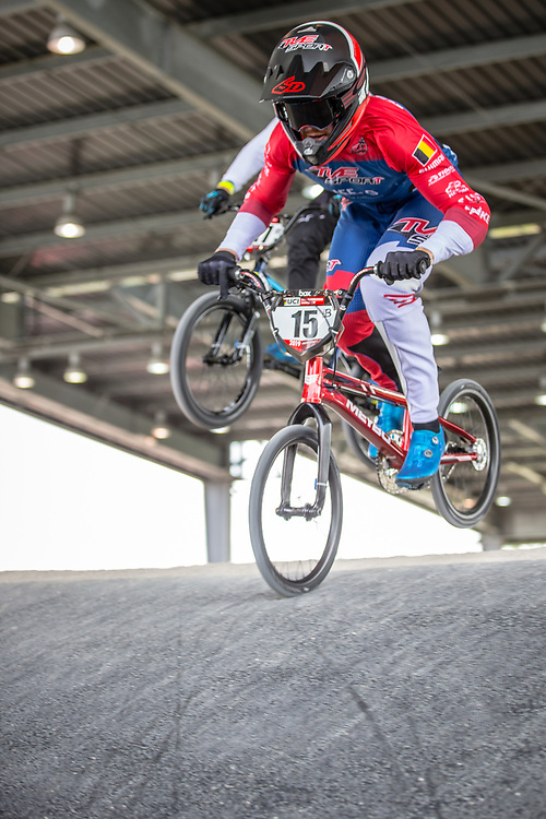 #15 (SEGERS Wouter) BEL at Round 6 of the 2019 UCI BMX Supercross World Cup in Saint-Quentin-En-Yvelines, France