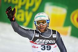 "Riccardo Tonetti (ITA) during FIS Alpine Ski World Cup 2016/17 Men's Slalom race named ""Snow Queen Trophy 2017"", on January 5, 2017 in Course Crveni Spust at Sljeme hill, Zagreb, Croatia. Photo by Ziga Zupan / Sportida"