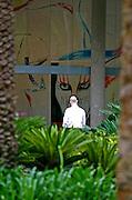 Brumadinho_MG, Brasil...Homeme no Centro de Arte Contemporanea Inhotim (CACI)...A man in Inhotim Contemporary Art Center (CACI)...FOTO: BRUNO MAGALHAES / NITRO..