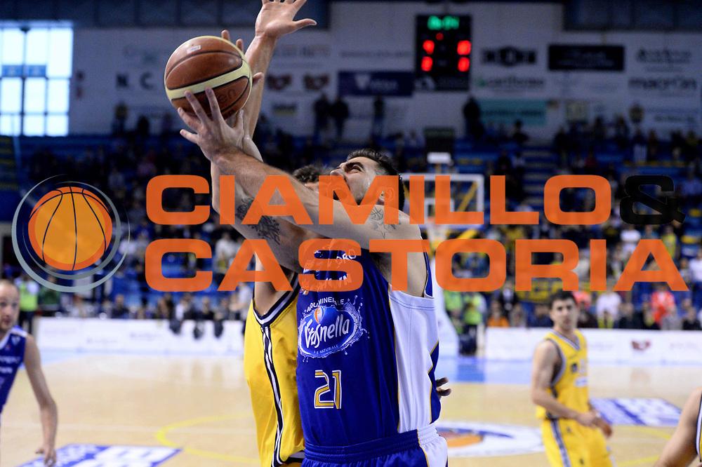 DESCRIZIONE : Porto San Giorgio Lega serie A 2013/14 Sutor Montegranaro Vitasnella Cant&ugrave;<br /> GIOCATORE : pietro aradori<br /> CATEGORIA : tiro<br /> SQUADRA : Sutor Montegranaro Vitasnella Cant&ugrave;<br /> EVENTO : Campionato Lega Serie A 2013-2014<br /> GARA : Sutor Montegranaro Vitasnella Cant&ugrave;<br /> DATA : 27/04/2014<br /> SPORT : Pallacanestro<br /> AUTORE : Agenzia Ciamillo-Castoria/M.Greco<br /> Galleria : Lega Seria A 2013-2014<br /> Fotonotizia : Roma, Lega serie A 2013/14 Sutor Montegranaro Vitasnella Cant&ugrave;<br /> Predefinita :