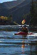 Kayaking at Summit Adventure Workshop in Jackson Hole, WY on Sept 24, 2013