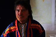 John Nystad, deputy mayor of Karasjok, fights for Sami land rights and conservation.