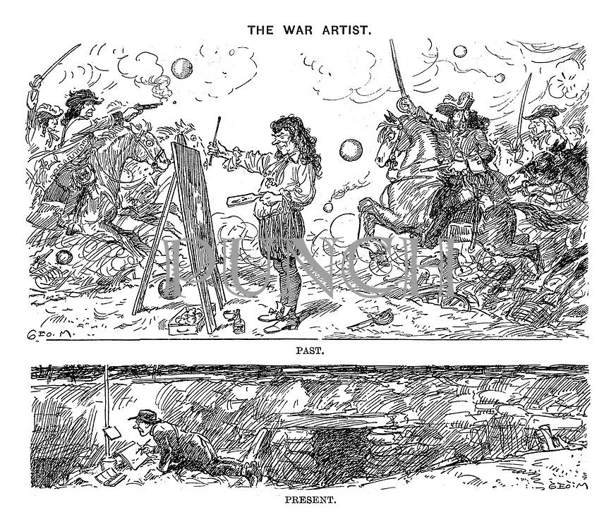 The War Artist. Past. Present.