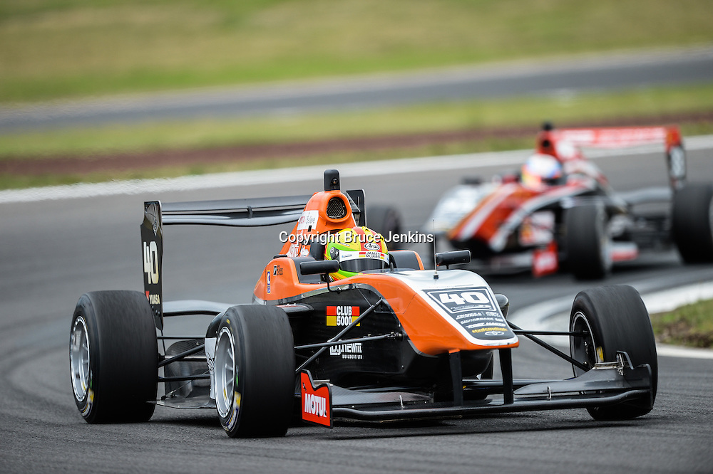 James Munro, Race 1, Round 4 of the Toyota Racing Series at Bruce Mclaren Motorsport Park, Taupo, New Zealand on Saturday Feb 6 2016