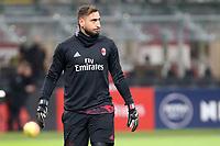 Gianluigi Donnarumma - Milan Calcio - Tim Cup - Ottavi di Finale - Milan-Verona