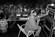 (2000)  Stevie Wonder give's a free concert at the E2 Nightclub in Chicago.