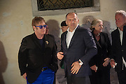 SIR ELTON JOHN;  VICTOR PINCHUK, British artist Lynette Yiadom-Boakye, preview of Pinchuk Foundation's Future Generation Art Prize,     Palazzo Contarini PolignacVenice. Venice Bienalle. Thursday 30 May).