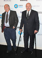 Jimmy Greaves & George Cohen, London Football Legends Dinner & Awards 2015, Battersea Evolution, London UK, 05 March 2015, Photo By Brett D. Cove