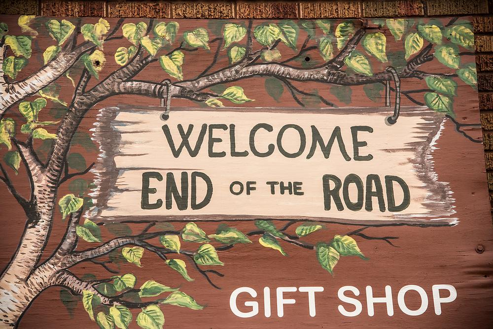 Big Bay Outfitters gift shop at Big Bay, Michign.