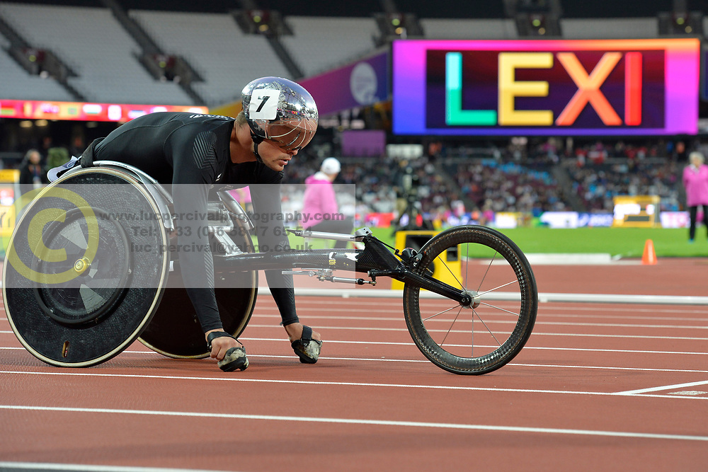 20/07/2017 : Marcel Hug (SUI), T54, Men's 400m, at the 2017 World Para Athletics Championships, Olympic Stadium, London, United Kingdom