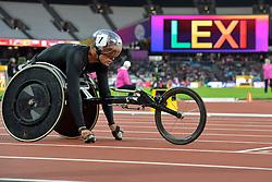 20/07/2017 : Marcel Hug (SUI), T54, Men's 400m, at the 2017 World Para Athletics Championships, Olympic Stadium, London, United Kingdom