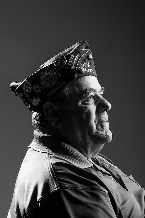 Earl J. Boyer<br /> Army<br /> Spec. 4<br /> Artillery<br /> 1963 - 1966<br /> Vietnam<br /> <br /> Veterans Portrait Project<br /> St. Louis, MO
