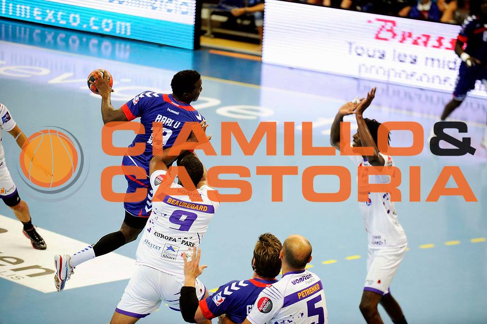 DESCRIZIONE : Handball Tournoi de Cesson Homme<br /> GIOCATORE : ABALO luc<br /> SQUADRA : Paris Handball<br /> EVENTO : Tournoi de cesson<br /> GARA : Paris Handball Selestat<br /> DATA : 06 09 2012<br /> CATEGORIA : Handball Homme<br /> SPORT : Handball<br /> AUTORE : JF Molliere <br /> Galleria : France Hand 2012-2013 Action<br /> Fotonotizia : Tournoi de Cesson Homme<br /> Predefinita :