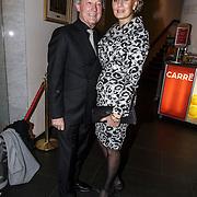 NLD/Amsterdam/20150202 - Willeke Alberti 70 jaar, Frank Wentink en partner