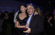 Ronni Ancona and Henry Goodman, to raise funds for the theatre, at the Victoria Miro Gallery, London.  1 December  2005. ONE TIME USE ONLY - DO NOT ARCHIVE  © Copyright Photograph by Dafydd Jones 66 Stockwell Park Rd. London SW9 0DA Tel 020 7733 0108 www.dafjones.com
