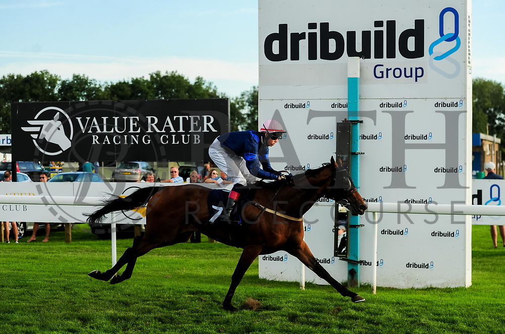 Beer With The Boys ridden by Scott McCullagh and trained by Mick Channon in the Visit Four From The Top At Valuerater.Co.Uk Apprentice Handicap race.  - Ryan Hiscott/JMP - 15/09/2019 - PR - Bath Racecourse - Bath, England - Race Meeting at Bath Racecourse