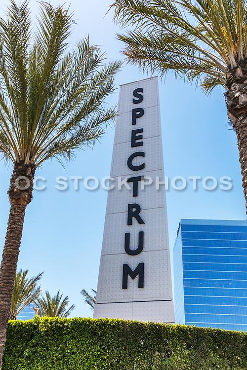 Irvine Spectrum Center Obelisk Monument