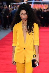 Vick Hope attending the European premiere of Rampage, held at the Cineworld in Leicester Square, London. Picture date: Wednesday April 11, 2018. See PA story SHOWBIZ Rampage. Photo credit should read: Ian West/PA Wire