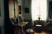 Interior of historic home, Norwegian Folk Museum, Bydøy near Oslo, Norway..Media Usage:.Subject photograph(s) are copyrighted Edward McCain. All rights are reserved except those specifically granted by McCain Photography in writing...McCain Photography.211 S 4th Avenue.Tucson, AZ 85701-2103.(520) 623-1998.mobile: (520) 990-0999.fax: (520) 623-1190.http://www.mccainphoto.com.edward@mccainphoto.com
