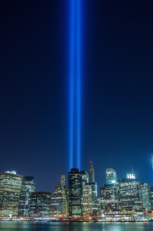 9/11 Tribute lights