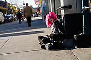 New York. Lower east side. Delancey street.   Manhattan /  Lower east side  New york - Etats unis