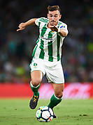 SEVILLE, SPAIN - SEPTEMBER 25:  Fabian Ruiz of Real Betis Balompie in action during the La Liga match between Real Betis and Levante at Estadio Benito Villamarin on September 25, 2017 in Seville, .  (Photo by Aitor Alcalde Colomer/Getty Images)