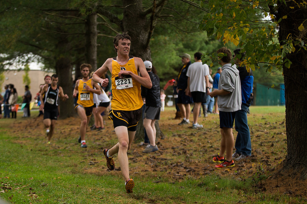 Rowan University Timothy Reardon - Collegiate Track Conference  Cross-Country Men's Championship at Gloucester County College in Sewell, NJ on Saturday October 19, 2013. (photo / Mat Boyle)