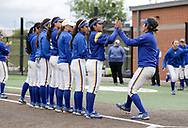 April 22, 2017: The St. Mary's University Rattlers play against the Oklahoma Christian University Lady Eagles at Tom Heath Field at Lawson Plaza on the campus of Oklahoma Christian University.
