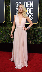 January 6, 2019 - Beverly Hills, California, United States of America - Golden Globe nominee Kristin Bell attends the 76th Annual Golden Globe Awards at the Beverly Hilton in Beverly Hills, California on  Sunday, January 6, 2019. HFPA/POOL/PI (Credit Image: © Prensa Internacional via ZUMA Wire)