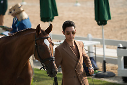 Alex Hua Tian, CHN, Don Geniro<br /> Final Horse inspection Eventing<br /> Olympic Games Rio 2016<br /> © Hippo Foto - Dirk Caremans<br /> 09/08/16