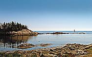 Sailboat in Coastal Maine