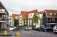 Nederland, Landsmeer, 20170509<br /> Nieuwbouwstraat in Landsmeer met  retrostijl huizen. <br /> <br /> Foto: (c) Michiel Wijnbergh