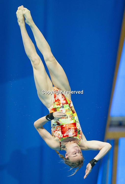 29.07.2015. Kazan, Russia.  MARINO Laura FRA France Platform Women 10m Preliminary Day6  XVI FINA World Championships Aquatics Diving Kazan Tatarstan RUS