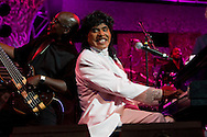 LAKE BUENA VISTA, FL - OCTOBER 17: Little Richard (R) performs during the Eat to the Beat concert series in Epcot at Walt Disney World, in Lake Buena Vista, Florida, October 17, 2006. (Photo by Matt Stroshane/Getty Images)