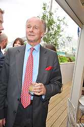 SIMON PARKER BOWLES at a party to celebrate the publication on 'Let's Eat: Recipes From My Kitchen Notebook' by Tom Parker Bowles held at Selfridge's Rooftop. Selfridge's, Oxford Street, London on 27th June 2012.