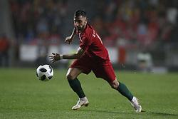 June 7, 2018 - Lisbon, Portugal - Portugal's midfielder Bruno Fernandes  in action  during the FIFA World Cup Russia 2018 preparation match between Portugal vs Algeria in Lisbon on June 7, 2018. (Credit Image: © Carlos Palma/NurPhoto via ZUMA Press)