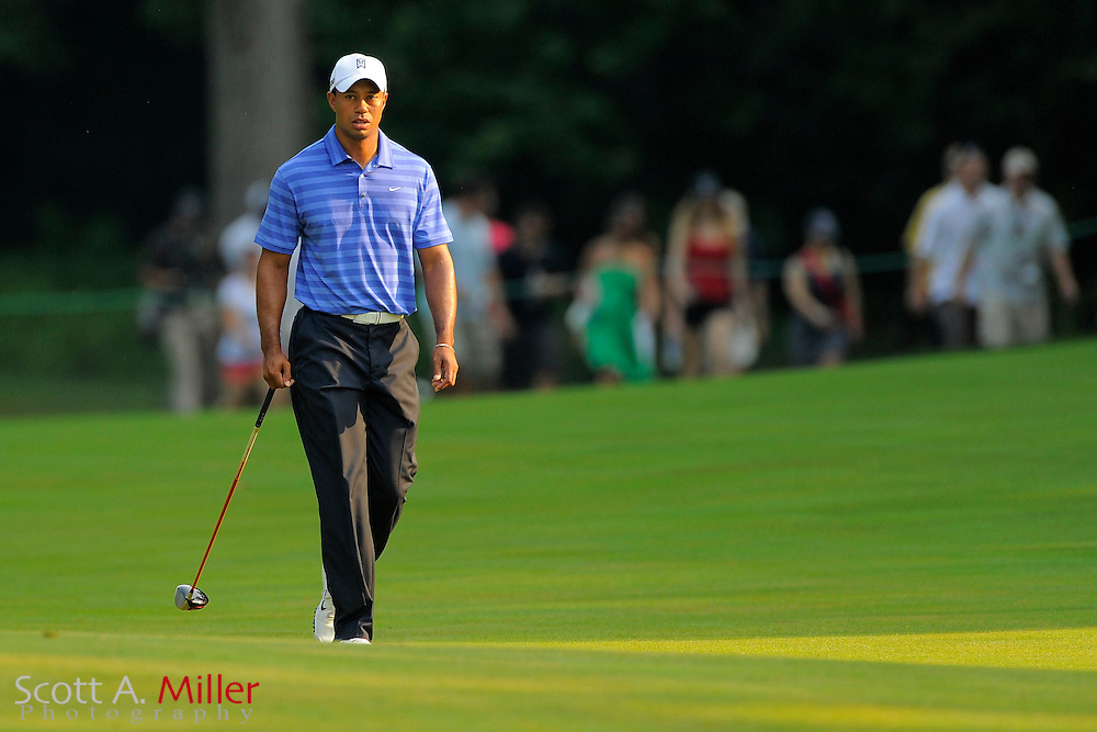 Tiger Woods during the second round of the AT&T National at Congressional Country Club on June 29, 2012 in Bethesda, Maryland. ..©2012 Scott A. Miller