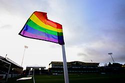 Rainbow flags at the Memorial Stadium - Mandatory by-line: Dougie Allward/JMP - 07/12/2019 - RUGBY - Ashton Gate - Bristol, England - Bristol Bears v London Irish - Gallagher Premiership Rugby