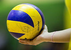 Ball during volleyball match between Nova KBM Branik Maribor and OK Luka Koper in Final of Women Slovenian Cup 2014/15, on January 18, 2015 in Sempeter v Savinjski dolini, Slovenia. Photo by Vid Ponikvar / Sportida