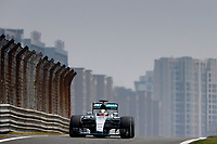 HAMILTON lewis (gbr) mercedes gp mgp w06 action   during 2015 Formula 1 FIA world championship, China Grand Prix, at Shanghai from April 9th to 12th. Photo Frederic Le Floch / DPPI