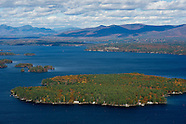 Flying over Lake Winnipesaukee with Lakes Biplane 20Oct13
