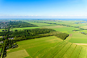 Nederland, Noord-Holland, Purmerend, 13-06-2017; overzicht Polder De Purmer met Purmerbos. <br /> Polder Purmer.<br /> luchtfoto (toeslag op standaard tarieven);<br /> aerial photo (additional fee required);<br /> copyright foto/photo Siebe Swart