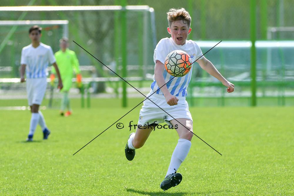 01.04.2017; Zuerich; <br /> Fussball FC Zuerich - FE15 Oberland - Red Star;<br /> Alberto Blumenthal (Zuerich) <br /> (Andy Mueller/freshfocus)